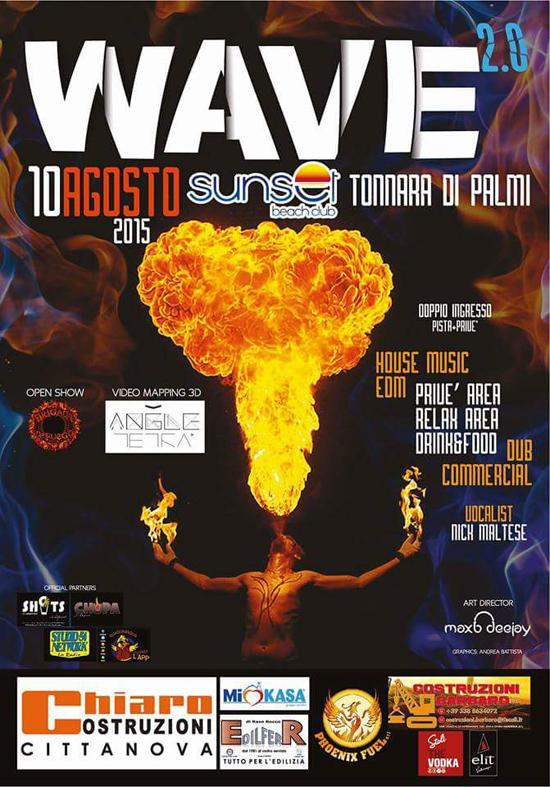 Wave 2.0 - Il più Grande Party in Spiaggia a Palmi