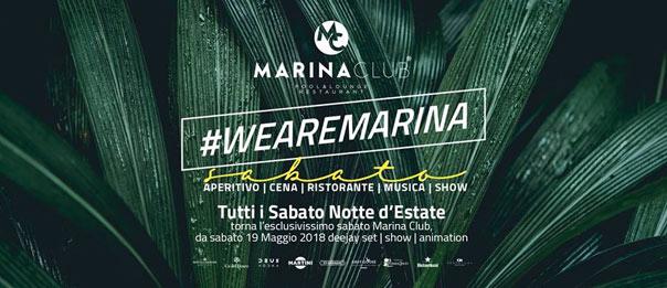 We are Marina al Marina Club a Puntone