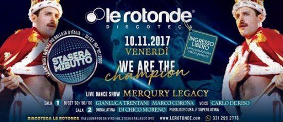Stasera mi butto! - We are the champions a Le Rotonde di Garlasco