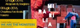 "Colette Sadler ""We are the monsters"" al Mirabilia Festival 2016"