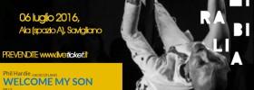 """Phil Hardie """"Welcome my son"""" al Mirabilia Festival 2016 a Savigliano"""