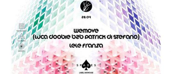 """Spades Label Showcase """"Wemove"""" al Ristorante 4cento di Milano"""
