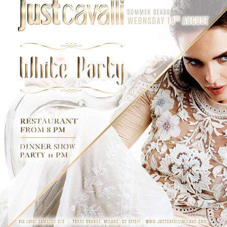 White Party al Just Cavalli Club di Milano