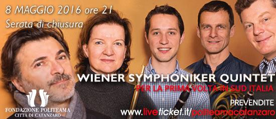 Wiener Symphoniker Quintet al Teatro Politeama di Catanzaro