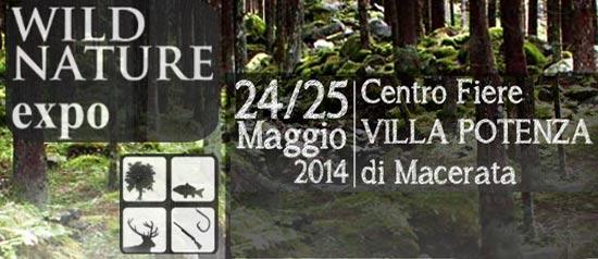 """""""Wild Nature Expo"""" Salone Caccia Pesca e Ambiente a Macerata"""