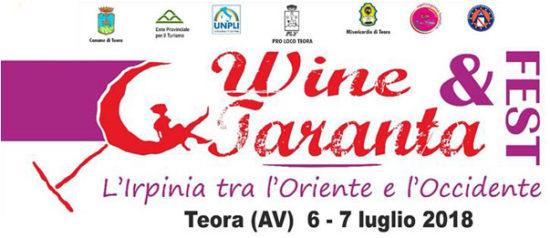 Wine & Taranta Fest in Piazza Giordano Bruno a Teora