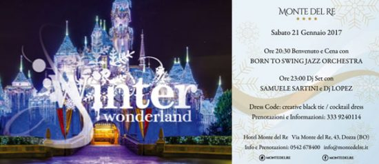 Swinter wonderland all'Hotel Monte del Re di Dozza