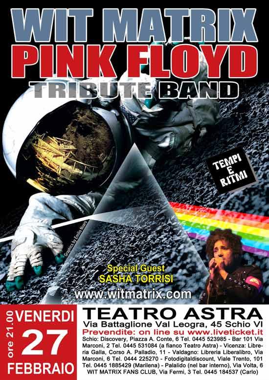 Wit Matrix live Tributo ai Pink Floyd al Teatro Astra di Schio