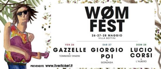Wøm Fest a Villa Bottini di Lucca