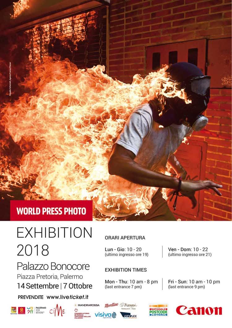 World Press Photo 2018 al Palazzo Bonocore a Palermo