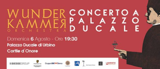 Wunderkammer Orchestra al Palazzo Ducale a Urbino