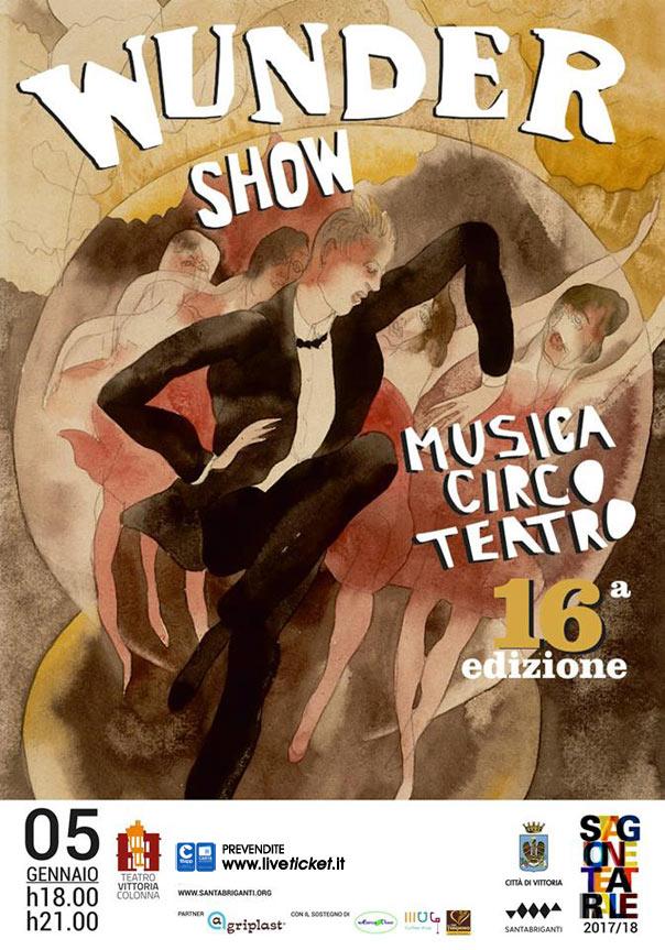 Wunder Show al Teatro Vittoria Colonna a Vittoria