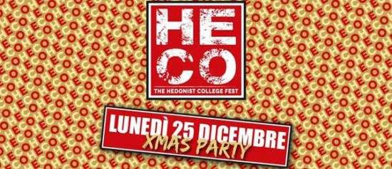 XMas Party all'Heco - The Hedonist College di Forlì