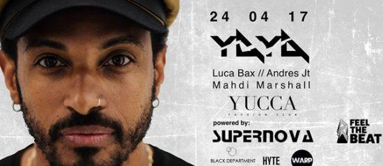 Yaya a Yucca Fashion Club di Rescaldina