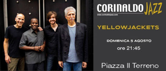 "Yellowjackets ""Corinaldo Jazz 2018"" in Piazza Il Terreno a Corinaldo"