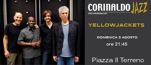 "Yellowjackets ""Corinaldo Jazz 2018"" in Piazza Il Terreno a Corinaldo"