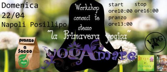 """YogAmare: conosci te stesso con """"la Primavera Yogica"""" al Bed and breakfast la Nave a Napoli"""