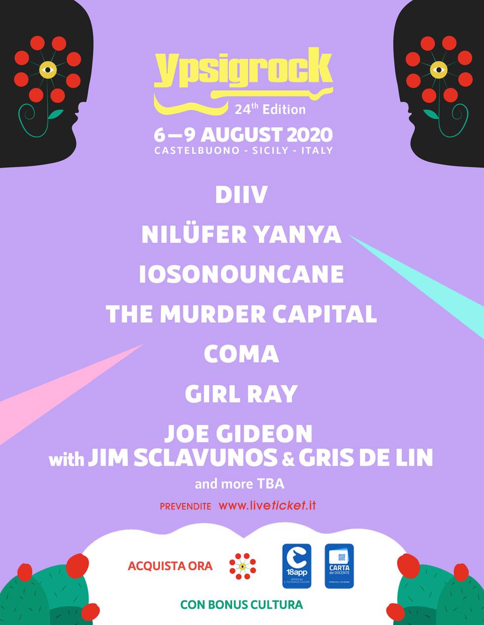 Ypsigrock Festival 2020