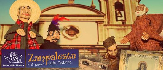 Teatro della Maruca  ZAMPALESTA E IL QUADRO DELLA MADONNA