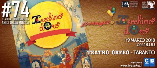 Il magico Zecchino d'Oro al Teatro Orfeo di Taranto