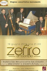 Zefiro ensemble a Palermo