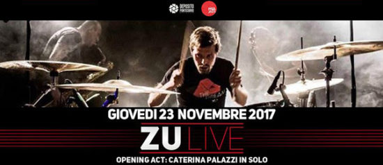 Zu in concerto – opening Caterina Palazzi al Deposito Pontecorvo a Pisa